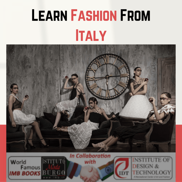 learn fashion from Italy online fashion designing course